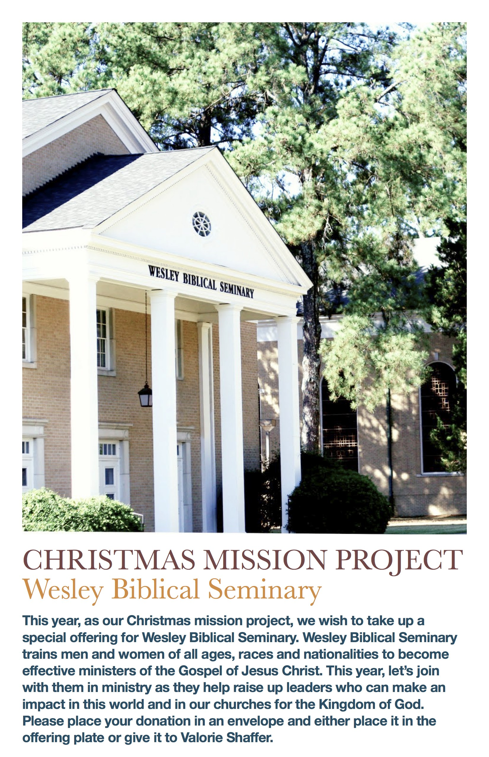 Christmas Mission Project