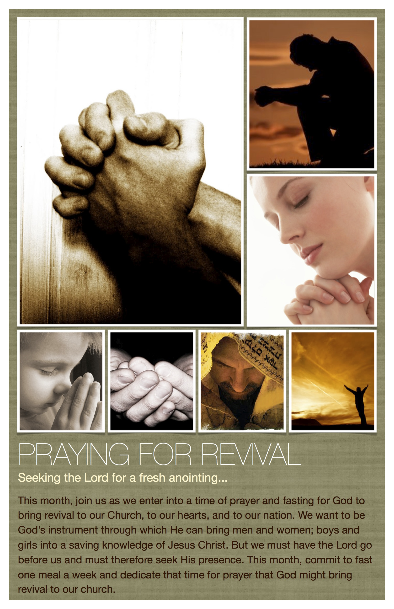 Praying for Revival INSERT